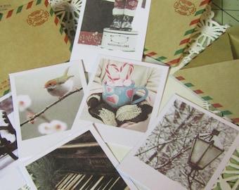 Mini Notecards/Mini Envelopes/Mini Stationary/Mini postcards/Mini Pictures
