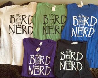 BIRD NERD - Ladies -fitted, round-neck T-shirts