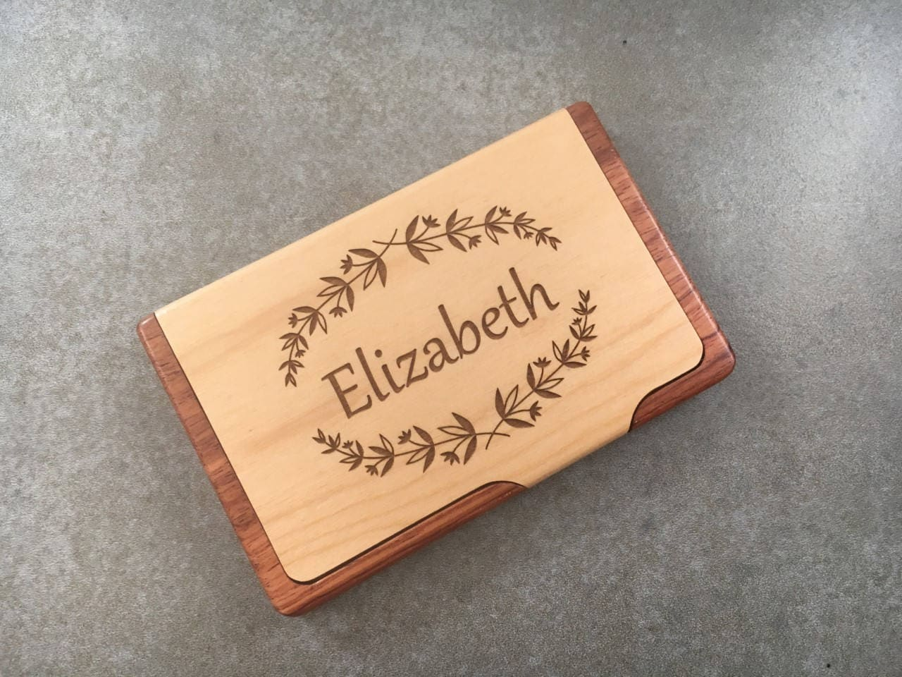 Business Card Holder For Desk Realtor Gift Corporate Business Card ...