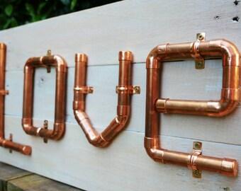 Love sign | wooden love sign | wood love sign