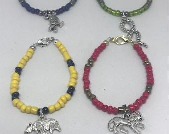 Hogwarts house bracelet