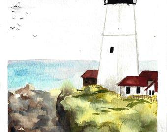 Coastal Lighthouse Print