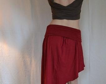 Adjustable Angle Fold Over Skirt