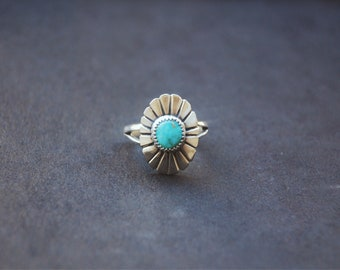 Turquoise Mountain Ring • size 8