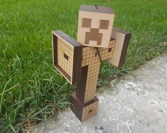 Mine Craft Kendama , minecraft creeper , minecraft birthday , kendama toy , minecraft party