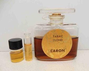 1960s Vintage Caron Tabac Blond