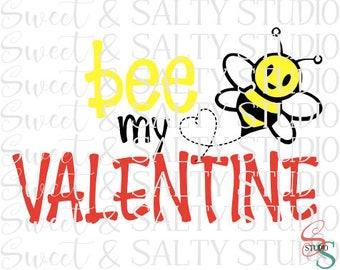 bee my valentine digital file