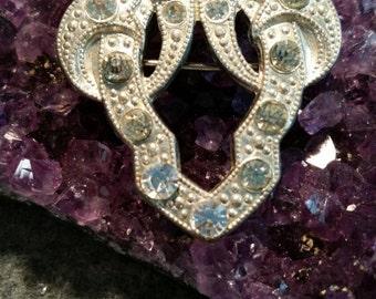 Vintage Marcasite style brooch.