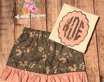 Girls Ruffle Shorts Outfit