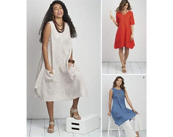 Simplicity Pattern 8640 Misses'/Women's Dress or Tunic