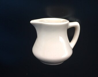 Walker China Toltec Restaurant Ware Small Pitcher -Beige A-51