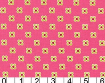 Lush - Pink Happy Dots by Patty Young for Michael Miller Fabrics