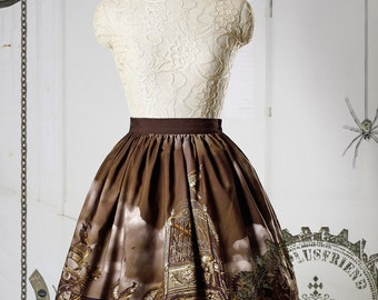 Steampunk Lolita with Trimmings Skirt