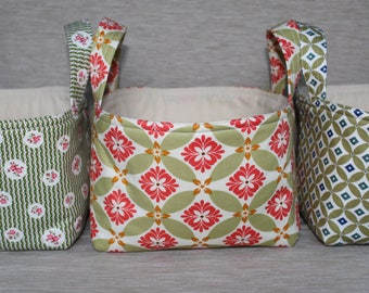 Fabric Boxes - Set of 3