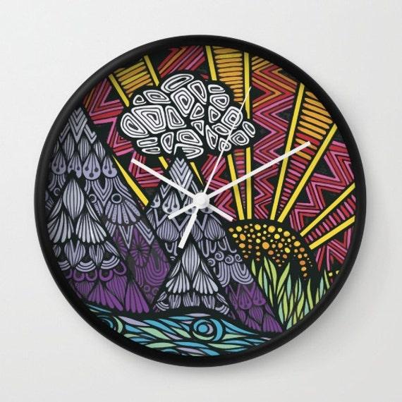 Zentangle - Lets Get Lost Clock