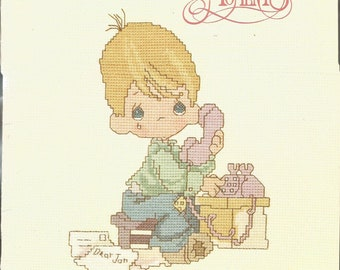 Dear Jon, Precious Moments, Designs by Gloria & Pat Cross Stitch Pattern Book PM-3