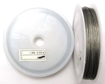"""Stainless steel beading wire .060"""" strand 70 ft clear 18000"""