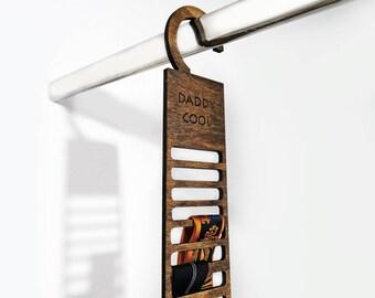 Tie rack | Etsy