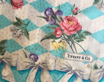 Rare Vintage Tiffany & Co Scarf