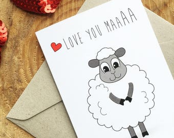 Love You Maa -  Card for Mum/Mom - PRINTABLE / DIGITAL DOWNLOAD