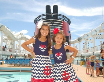 Disney Cruise  Skirt  and Tank top - Size 2T - Youth 12/ Disney cruise outfit, Fantasy, Magic, Dream, wonder, Disney Cruise Dress