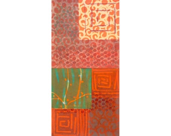 Monotype Prints Hand-Pulled, Fine Prints, Abstract Fine Art, Abstract Modern Art, Artist Wall Art, Wall Décor  Home Décor, Small Art