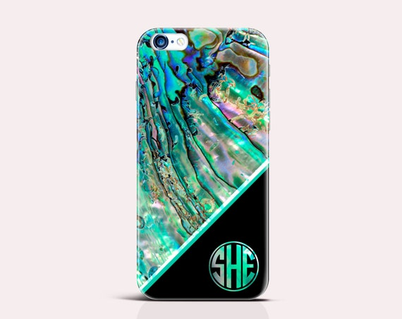 Monogram iPhone 6 case abalone shell iPhone 6 Plus Case iphone 5s Case iPhone 6s case Samsung S4 Case Galaxy Note 4 Case Samsung S5 Case 346