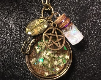 Witches Pendant Necklace