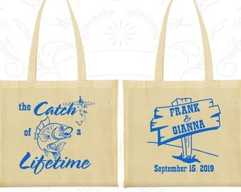 Wedding Bags, Tote Bags, Wedding Tote Bags, Personalized Tote Bags, Custom Tote Bags, Wedding Welcome Bags, Wedding Favor Bags (245)