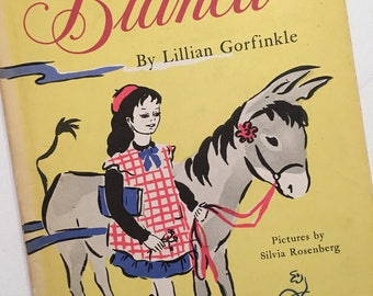 Bianca Vintage Children's Book First Edition 1959 Lillian K. Gorfinkle Sylvia O. Rosenberg Dust Jacket Rare Book