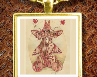 Cat Fairy True Love Necklace