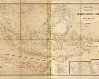 Nederlandsch indie 1893, World globe, Map, Map of the world, Ancient map, World map poster, Wall world map, Ancient, 222