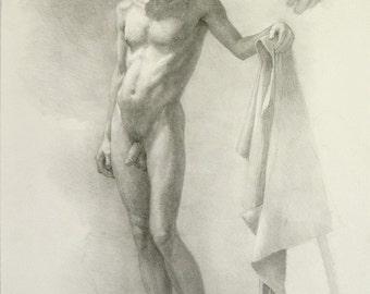 Figure Drawing - original drawing  (FD 43)