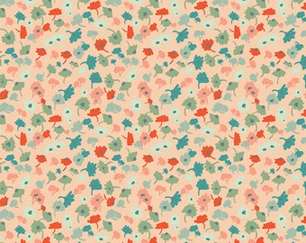 Pat Bravo for Art Gallery FABRIC - Rapture - Delicate Femme in Apricot