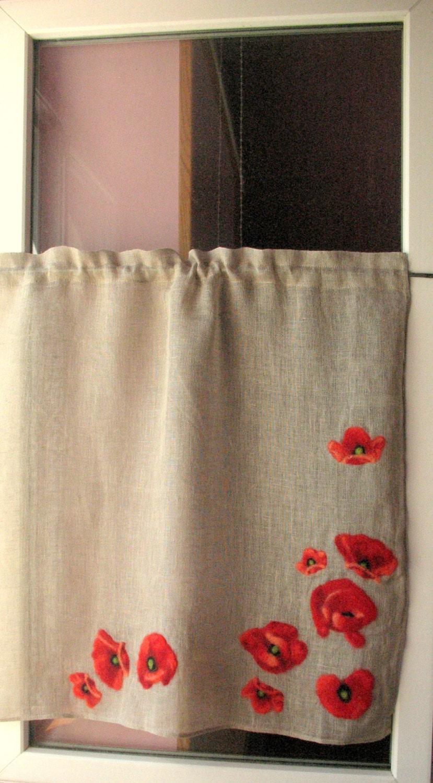 Vorhang Sackleinen Vorhänge Cafe Vorhänge natürlichen grauen