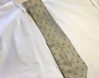 Vintage 1990s VALENTINO Mens Silk Necktie