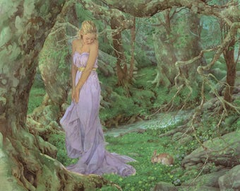 Spring Maiden 8.5x11 Signed Print