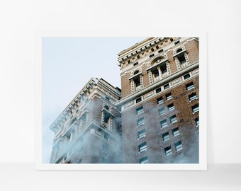NYC Printable Poster, New York Printable Photography, Architecture Printable, Manhattan Instant Download, Contemporary Home Decor