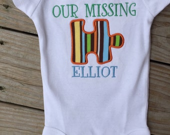 Our Missing Piece shirt great for adoption!