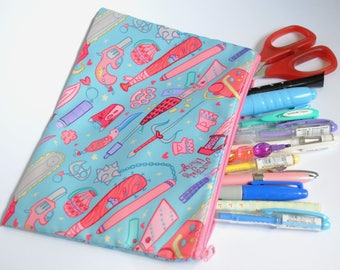 Just Girly Thingz Pencil/Cosmetic Bag