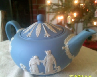 Wedgwood Jasperware Tea Pot