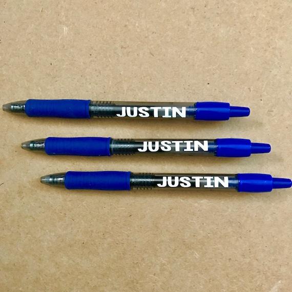 Bamboo gel pen personalized custom logo ball pen fountain pens pencil case  stationery for school wedding