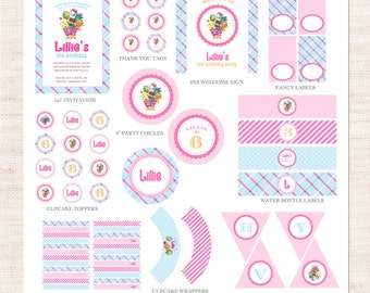 Shopkins Birthday Party Full Printable Collection