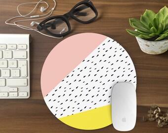 Mouse Pad Geometric, Mousepad Funny, Mouse Mat Mouse Pad Office Mousemat Rectangular Mousemat Mousepad GEOMETRIC design mouse pad-T80523