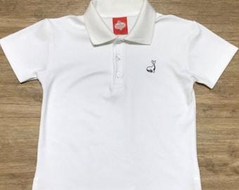 Boys Whale Polo shirt