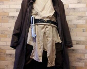 DELUXE Star Wars Full Obi Wan Kenobi Jedi Replica Costume