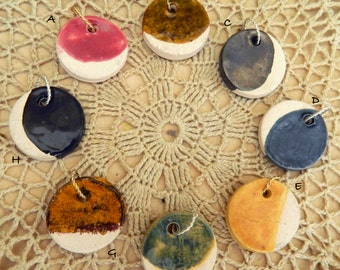 Ceramic Diffuser Necklace, Diffuser Pendant, Diffuser