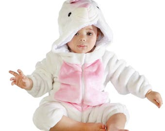 Animal White Rabbit Outfits Infant Costume Baby Costume  sc 1 st  Etsy & Infant Duck Costume Baby Duck Costume
