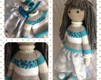 Handmade doll, Germany