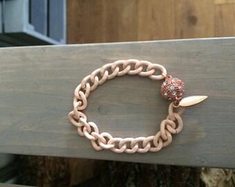 Salmon Pink Bracelet